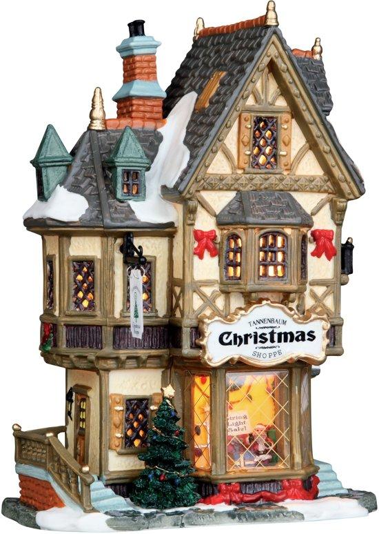 Lemax Tannenbaum Christmas Shoppe Kerstdorpen - Met verlichting