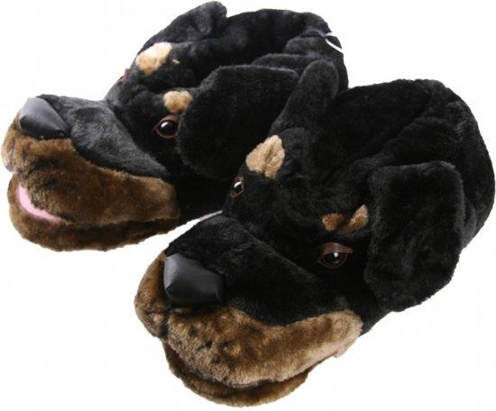 Dieren sloffen hond voor heren 43-44 - pantoffels