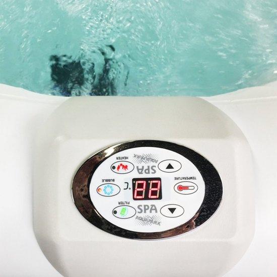 Aquaparx AP-600SPA Opblaasbare SPA / Jacuzzi Whirl pool - Zwart / Wit