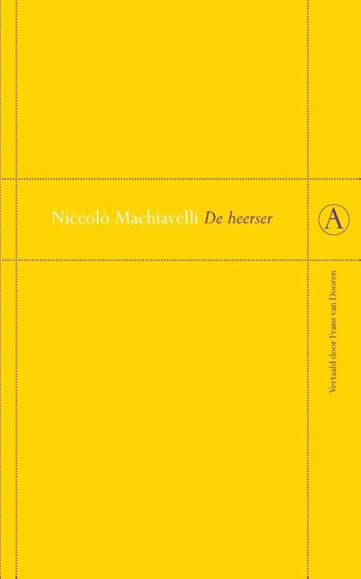 De Heerser Boek Pdf Niccolò Machiavelli Samiliwor