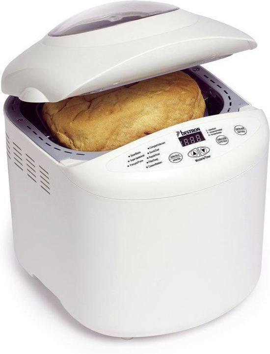 deeg broodbakmachine afbakken in oven