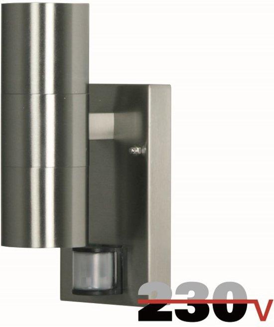Muurlamp spot Luxform Lux1505S - Eden Kleur: Rvs - Outlet