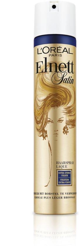L'Oréal Paris Elnett Satin Extra Sterke Fixatie - 200 ml - Haarlak