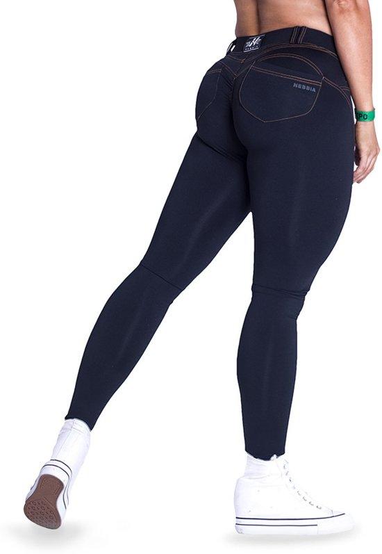 fe9cc325872 Push-up broek Zwart - Nebbia 255 Bubble Butt Pants Revolution