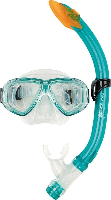 Osprey Advanced Dive series - Masker & snorkelset - Junior - Dual Window - Turquoise