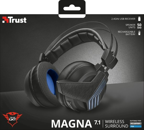 GXT 393 Magna - Playstation 4 - Wireless 7.1 Surround Gaming Headset - PS4