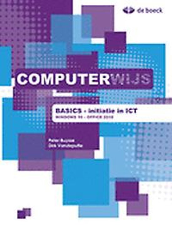 Computerwijs basics windows 10 office 2016 leerwerkboek