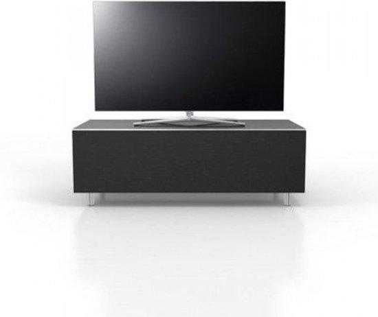 Bolcom Just Racks Tv Meubel Zwart Houtglas