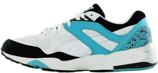 bol.com | Puma Trinomic R698 Sneakers Heren Wit / Blauw Maat 40