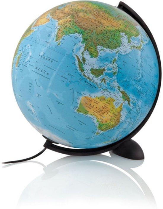 bol.com | Wereldbol NL Globe Ellipse B met verlichting 30cm ...