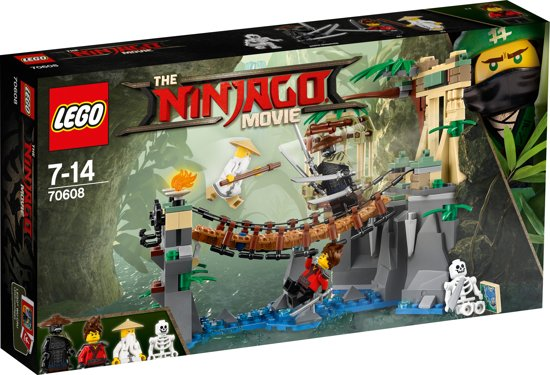 LEGO NINJAGO Movie Meester Watervallen - 70608