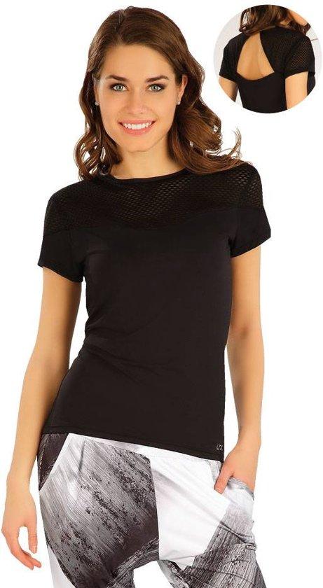 shirt met blote rug
