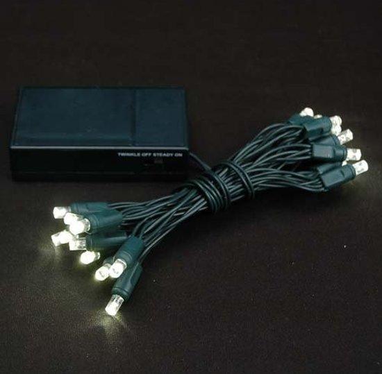 Kerstverlichting op batterij - 3.5 meter - 30 LEDs - warm wit