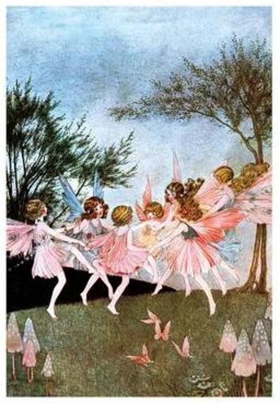 Afbeelding van het spel Fairy Circle - Fairy Greeting Card