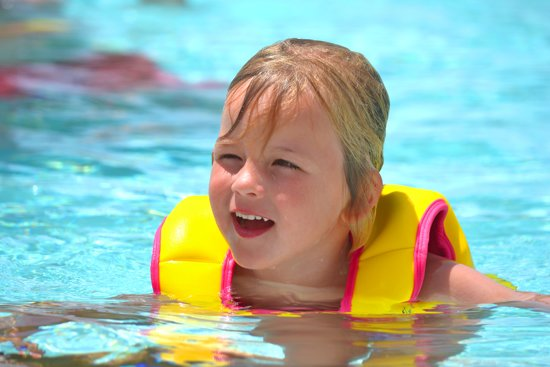 New Swim Trainer Jacket Size 1(1-2 yr)Girls pink/Yellow