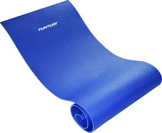 Tunturi XPE - Fitnessmat - 160 cm x 60 x 0,7 cm - Blauw