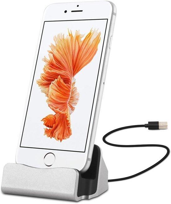 dock charger oplaad station iphone 5 5s 5c se. Black Bedroom Furniture Sets. Home Design Ideas