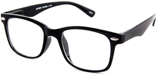 INY Gatsby G51800 Zwart +2.00 - Leesbril