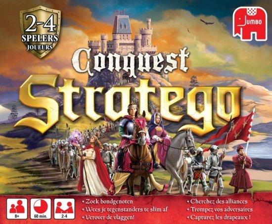 Afbeelding van het spel Jumbo Stratego Conquest Bordspel