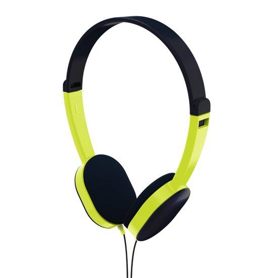 "Hama Kinderkoptelefoon ""Kids"", on-ear, volumebegrenzing, zwart/groen"