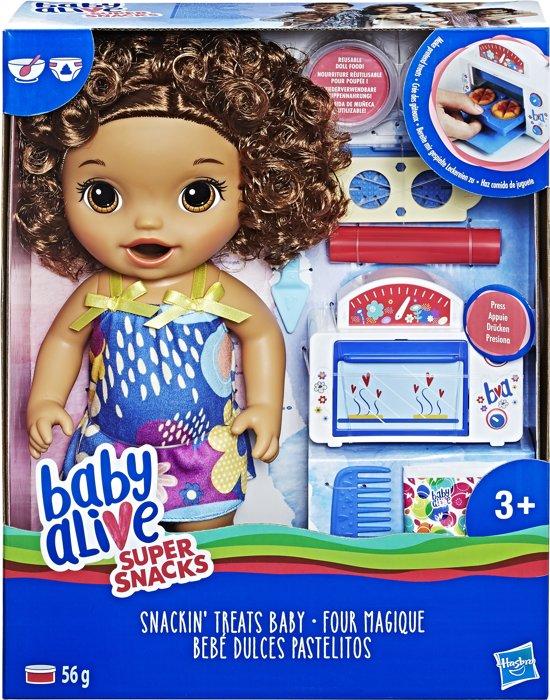 Baby Alive Snack en Snoep Baby - Brunette