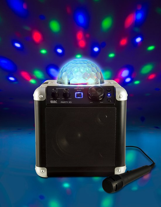 Wonderbaarlijk bol.com | Elec Party XS | Party speaker met Bluetooth | Lichtshow GS-74