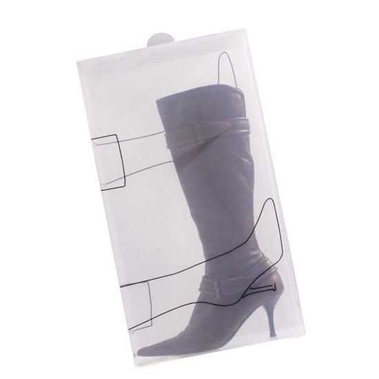 Bosign Transparante Schoenendoos Voor Laarzen Set Van 2 Stuks