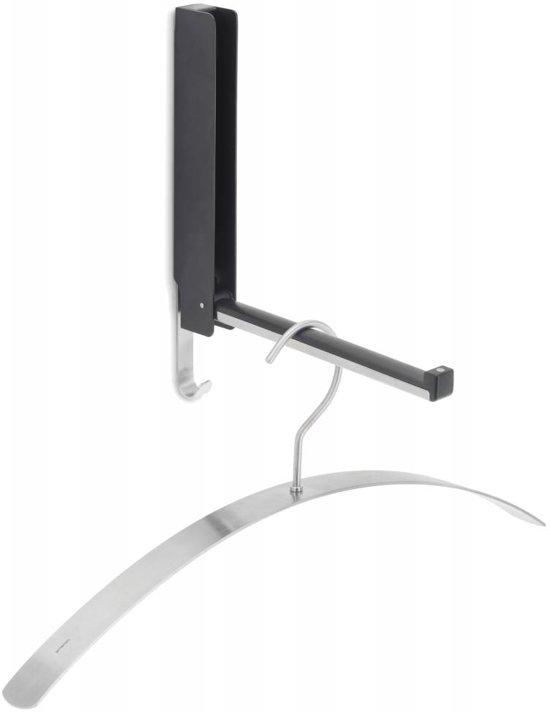 Blomus Kapstok uitklapbaar - Wandkapstok - 3.8x25.5cm - RVS - Antraciet