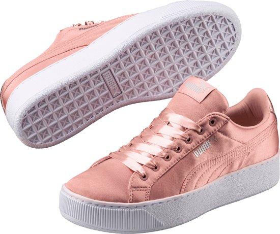 PUMA Vikky Platform EP Sneakers Dames - Peach Beige-Peach Beige