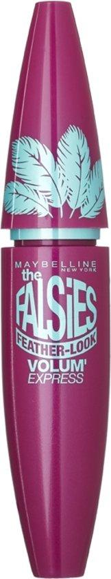 Maybelline Volum Express The Falsies Feather Look Black Mascara - Zwart
