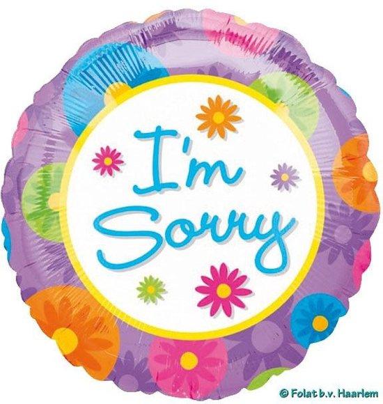 Folie I'm sorry  (excl. helium)
