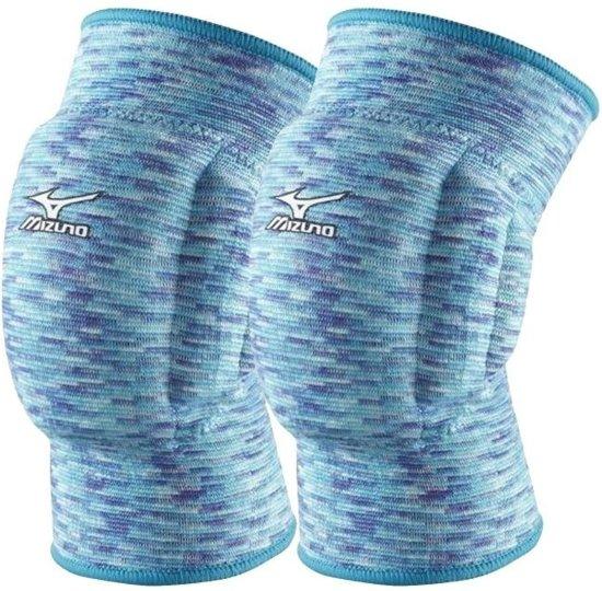 Mizuno Team kniebeschermers volleybal blauw paars unisex (V2EY7C02-22)