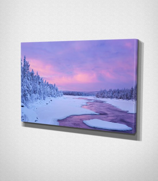 Winter Day Canvas