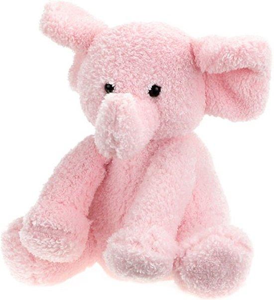 Geboorte Olifant Roze + Deken in Luxe Kadobox