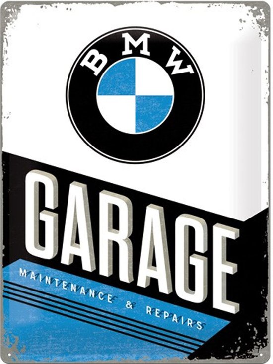 Reclamebord bmw garage for Garage bmw corbeil essonnes