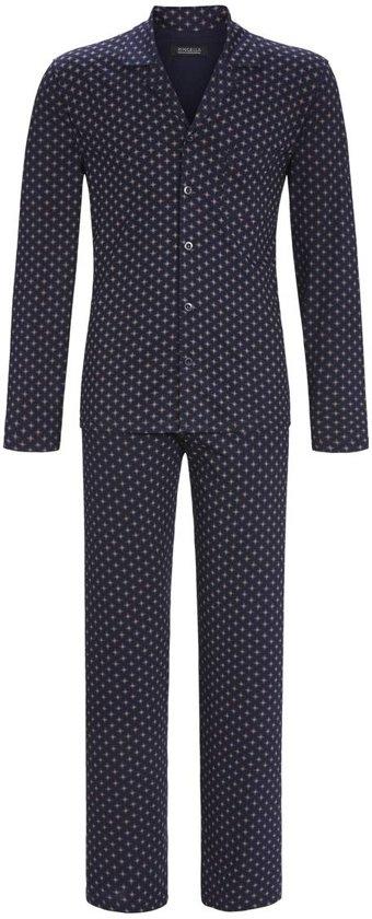 129f12792e8 bol.com | Blauwe heren pyjama met knopen Ringella