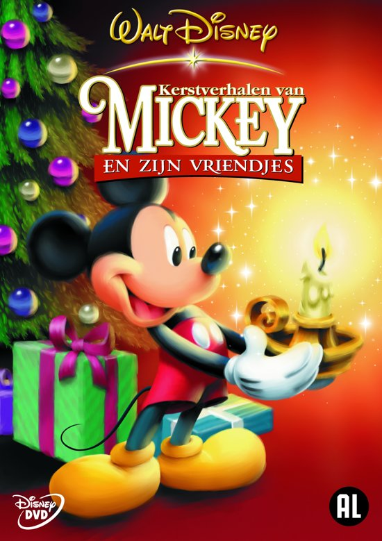 Disney Kersttrui.Disneys Kerstverrassing Mickey Mouse Figuur Hebben Disney