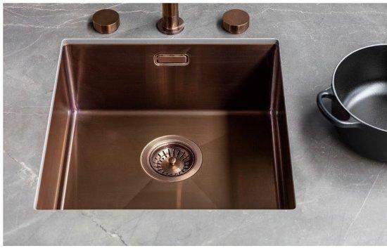 Lanesto Urban Copper / Koper 615 50x40 spoelbak