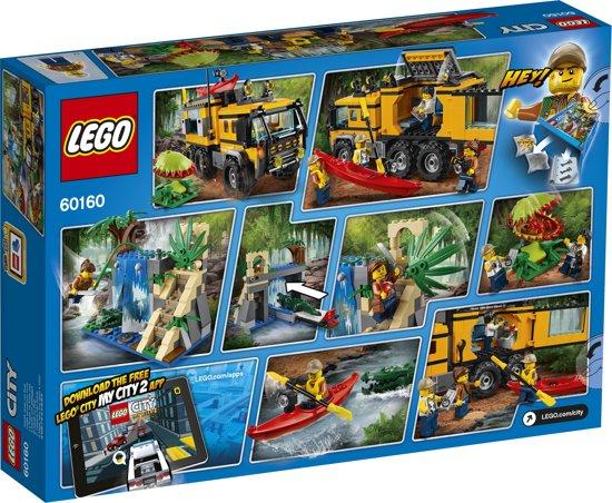 Bolcom Lego City Jungle Mobiel Laboratorium 60160 Lego Speelgoed