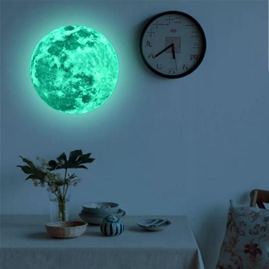 Glow in the dark moon | Glow in the dark maan