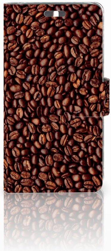 Huawei Y625 Uniek Boekhoesje Koffiebonen Met Opbergvakjes in Westeind