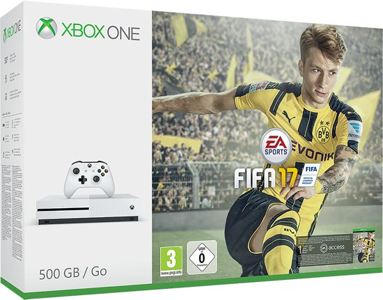Xbox One S FIFA 17 Console - 500 GB