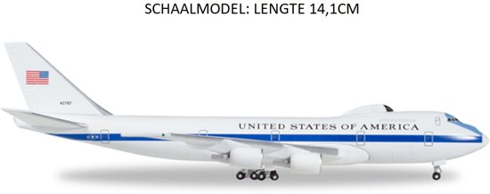 Boeing E-4B Nightwatch U.S. AF Airborne Command Post