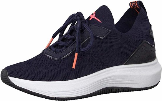 Tamaris Fashletics sneakers blauw Maat 37