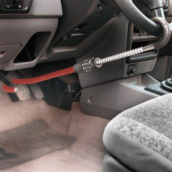 Carpoint Stuurslot Auto Beveiliging tussen stuur en pedaal