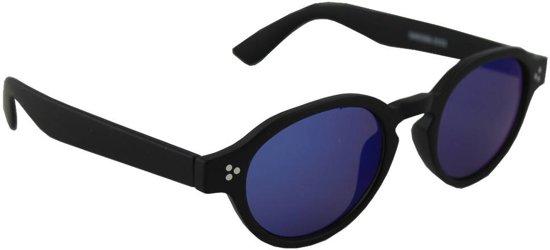10d961d792fab2 Zonnebril UV 400 Ovaal Zwart Blauw