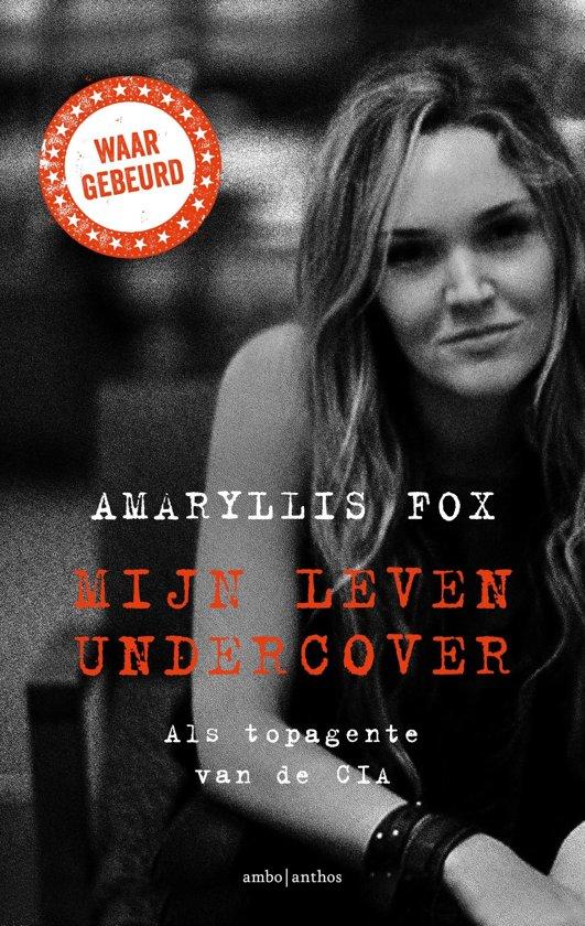 Boek cover Mijn leven undercover van Amaryllis Fox (Onbekend)