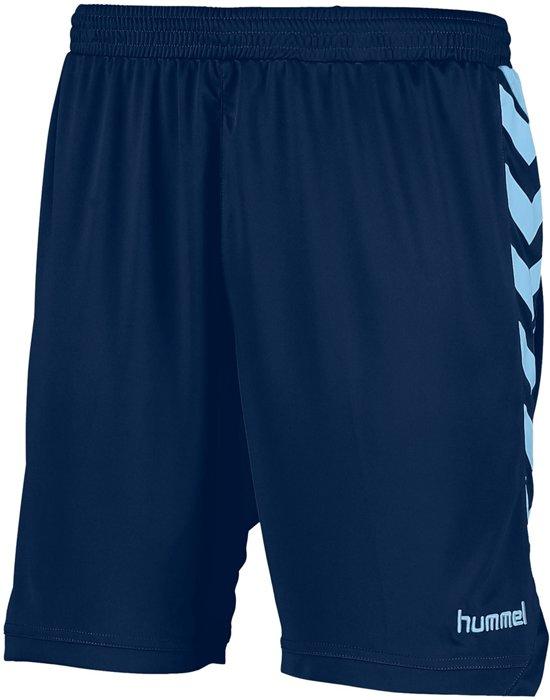 Hummel Burnley Voetbal Short - Shorts  - blauw donker - 152