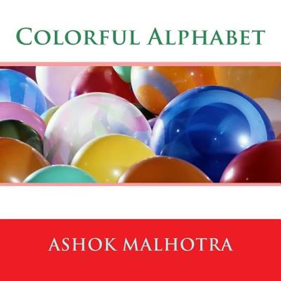 Boek cover Colorful Alphabet van Dr Ashok Malhotra (Paperback)