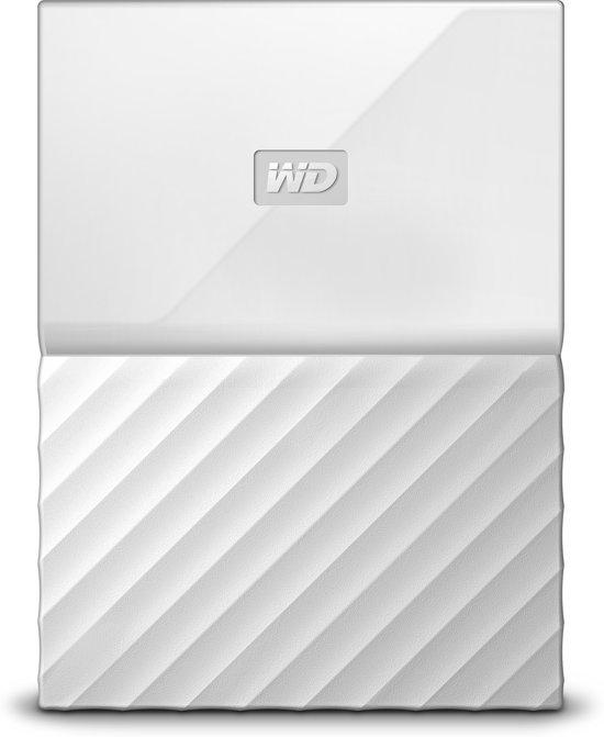 WD My Passport portable 2 TB - Wit